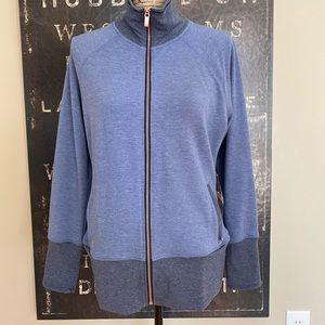 NWT woman's Addidas knit zip jacket.